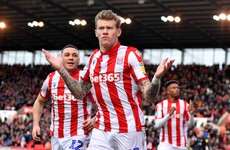 James McClean boosts Stoke's survival hopes with sixth goal of the season