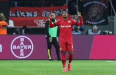 Super sub Bailey denies high-flying Dortmund late as Leverkusen win seven-goal thriller