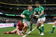 Analysis: Andrew Conway delivers a brilliant wing display for Ireland