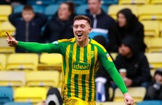 First senior goal for Irish defender O'Shea helps extend West Brom's lead