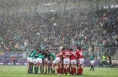 IRFU issue apology after Wales left with cold showers in Donnybrook