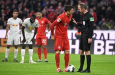 Lewandowski sees penalty reversed by VAR as Leipzig hold Bayern