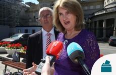 Former tánaiste Joan Burton has lost her seat in Dublin West