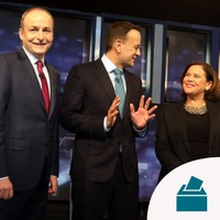 What are the coalition options for the next government, and what are the leaders' stances?