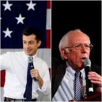 Pete Buttigieg wins delayed Iowa count but Bernie Sanders says he will contest result