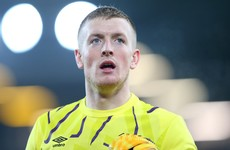 Jordan Pickford unhappy with Gary Neville criticism