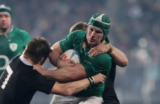Injury toll: Sean O'Brien ruled out until December