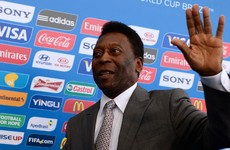 Pele depressed, reclusive because of poor health