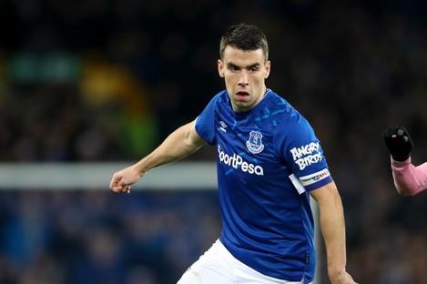 Everton captain Seamus Coleman.
