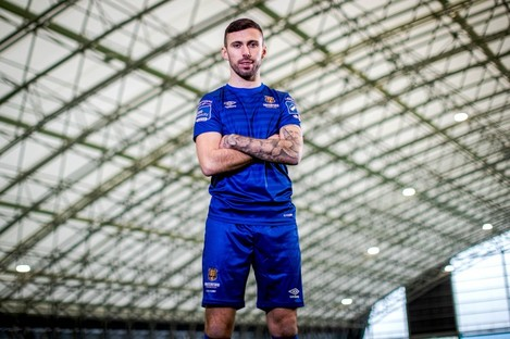 Robbie McCourt pictured at the League of Ireland's media launch day.