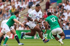 Manu Tuilagi returns to England training camp ahead of Ireland clash