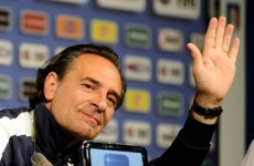 Forward thinking: Prandelli vows to attack Germany