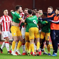 'He tried to hit McClean and hit me instead!' - Browne avoids injury to boost Preston's promotion bid