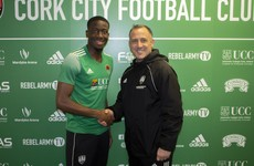 Cork City sign 21-year-old defender on loan from Arsenal