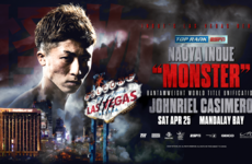 'Monster' Inoue to make US debut in unification clash with fellow three-weight world champion