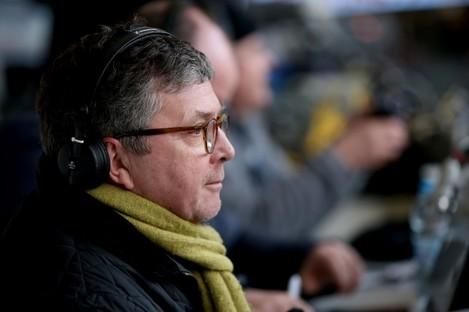 George Hamilton, the voice of Irish football.