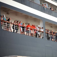 Cruise passengers land in Cambodia after two weeks at sea over coronavirus fears