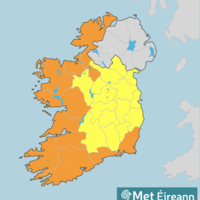 Status Orange wind warning for nine coastal counties to take effect tomorrow morning