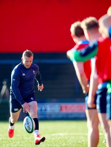 'It's a lot more chilled, we're barely in the classroom': Earls enjoying freedom under Farrell