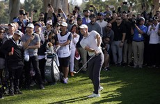 McIlroy shares lead heading into final round at Riviera