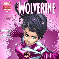 Comic super heroes go pink to fight cancer