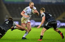 Ulster rule out Kiwi back for the rest of the season due to injury
