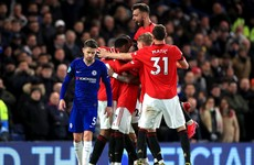 Man United keep Champions League hopes alive with crucial Chelsea victory