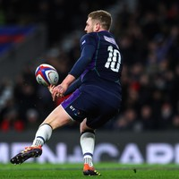 Finn Russell still not back in Scotland camp ahead of key game