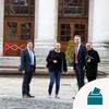 Sinn Féin enter Government Buildings for talks with top civil servants