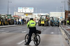 It cost almost €70,000 to police the three winter tractor protests