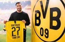 Dortmund complete permanent signing of ex-Liverpool midfielder