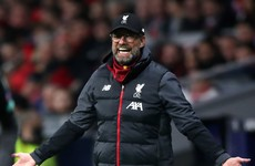 Klopp has smile wiped off his face but Liverpool will believe they'll have the last laugh