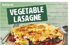 Iceland Vegetable Lasagne batch recalled due to possible presence of plastic