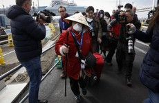 Passengers start to leave cruise ship in Japan as coronavirus quarantine ends
