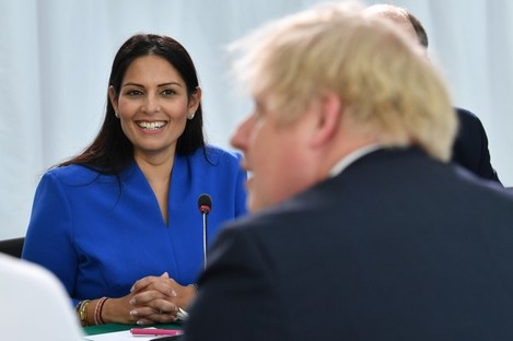 Home Secretary Priti Patel outlined the plans yesterday.