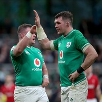 Ireland name unchanged team for England clash as Doris returns on bench