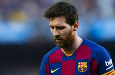 Messi admits to seeing 'weird things happening' at Barcelona