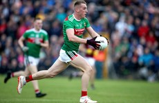 Full debut for defender as part of 5 changes to Mayo team for clash with Monaghan