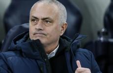 Jose Mourinho sees no bright side for Spurs