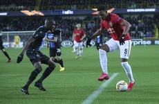 LIVE: Club Brugge v Manchester United, Europa League last 32