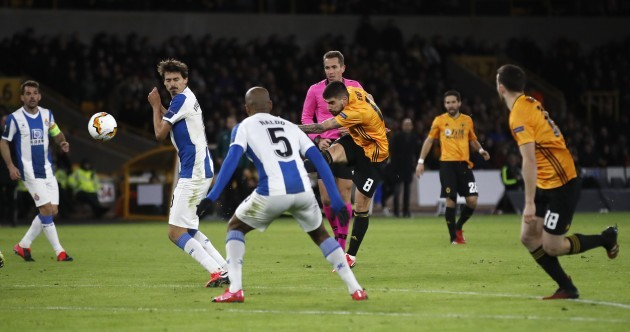 This stunning Ruben Neves goal capped an unforgettable night for Wolves