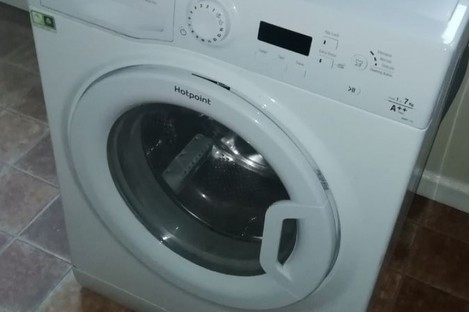 One of the recalled washing machines in a house in Limerick.