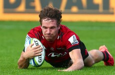 First-half blitz sends Crusaders to top of Super Rugby standings
