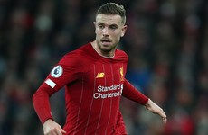 Three-week lay-off leaves Henderson in race against time for Atletico showdown
