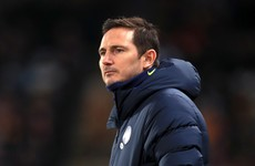 Lampard plays down reports of rift with Chelsea board over goalkeeper decision