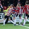 Super sub Liddle strikes late to save point for Derry