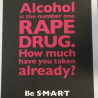 PSNI investigate after old police flyers calling alcohol 'the number one rape drug' are distributed
