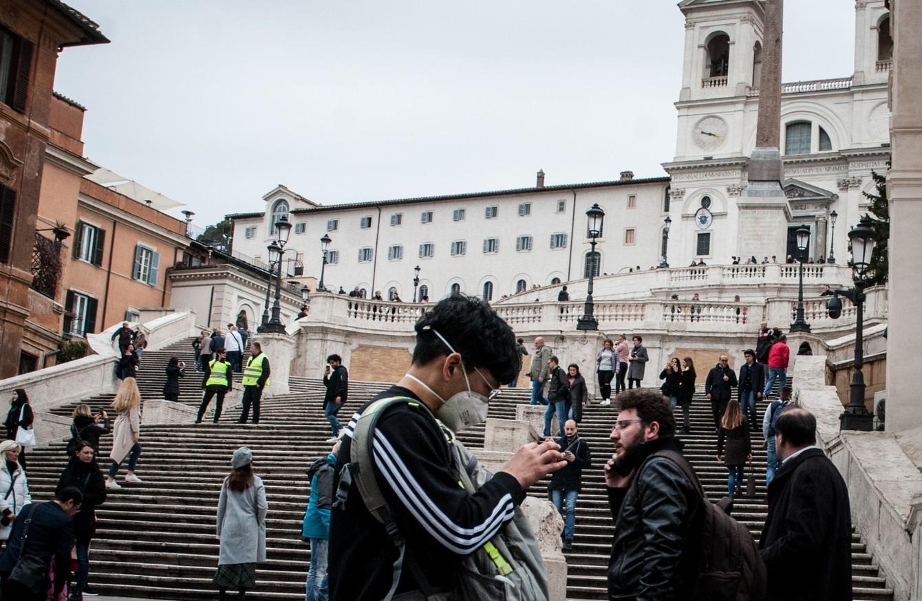 Italian towns under lockdown as first European coronavirus death ...