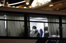 Coronavirus cruise ship passengers arrive back in the UK