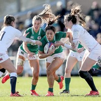 Peat and Naoupu injured as Ireland Women held to nil by five-try England